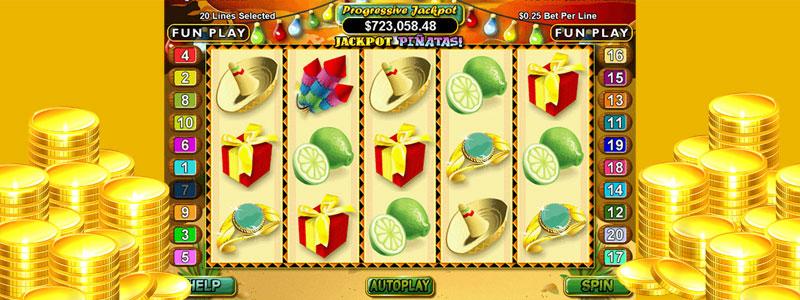 Jackpot Piñatas Gameplay